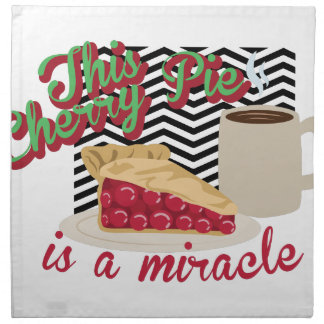 Miracle Cherry Pie Napkin