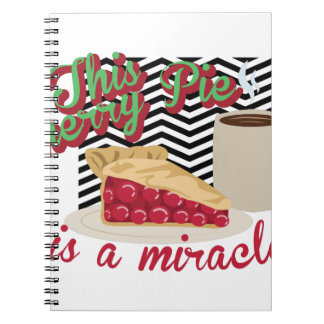 Miracle Cherry Pie Notebook
