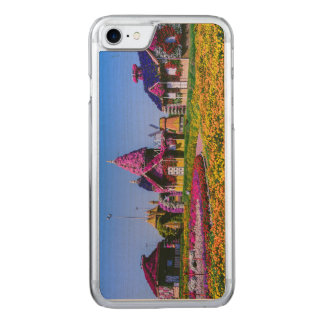 Miracle Garden, Dubai floral houses Carved iPhone 7 Case