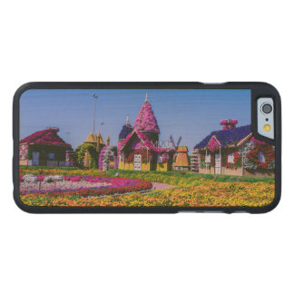 Miracle Garden, Dubai floral houses Carved® Maple iPhone 6 Case