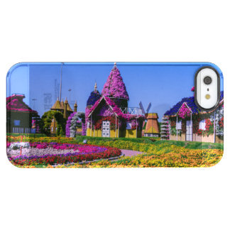 Miracle Garden, Dubai floral houses Clear iPhone SE/5/5s Case