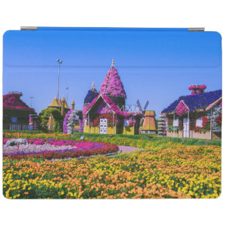 Miracle Garden, Dubai floral houses iPad Cover