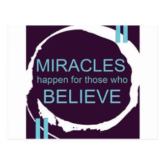 Miracle Happen.jpg Postcard