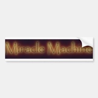 Miracle Machine Bumper Sticker