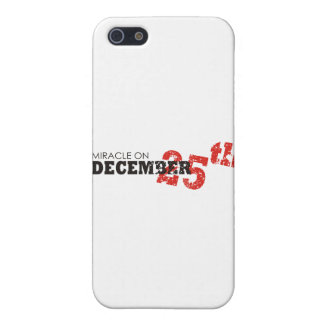 miracle of christmas iPhone 5 covers