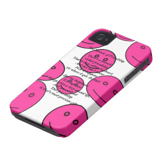 Miracle of Friendship Poem Black Berry Bold Case iPhone 4 Case-Mate Cases