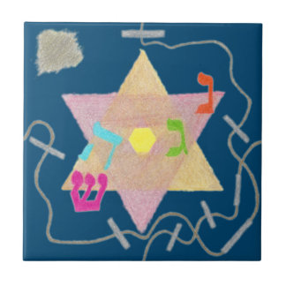 Miracle of Hanukkah Remembrance Tile