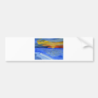 Miracle of Sunset Bumper Stickers