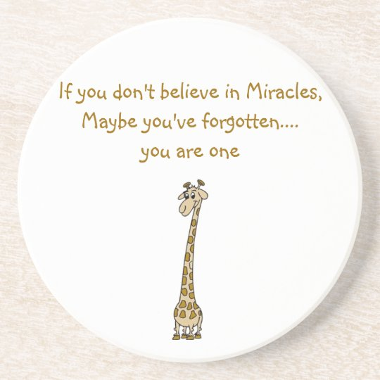 Miracle Quote Coaster