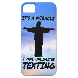 MIRACLE: UNLIMITED TEXTING iPhone 5 CASE