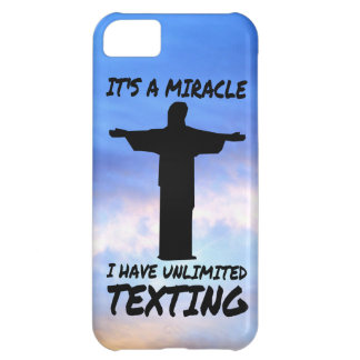 MIRACLE: UNLIMITED TEXTING CASE FOR iPhone 5C