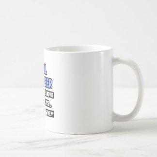 Miracles and Civil Engineers Coffee Mug