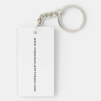 Miracles Are Everywhere Keychain