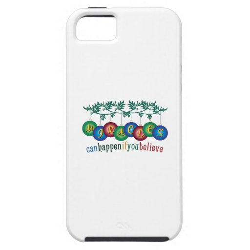Miracles Can Happen iPhone 5/5S Cases