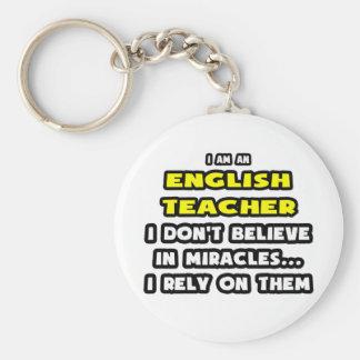 Miracles et professeurs d'Anglais… drôles Porte-clef