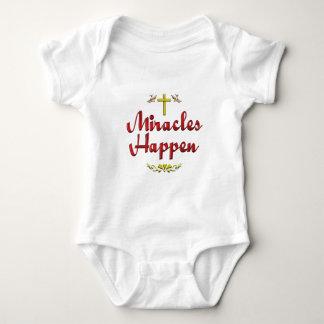 Miracles Happen Baby Bodysuit