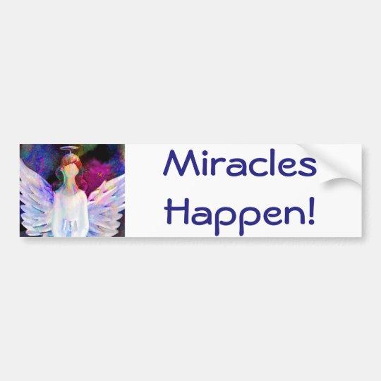 Miracles Happen! Bumper Sticker