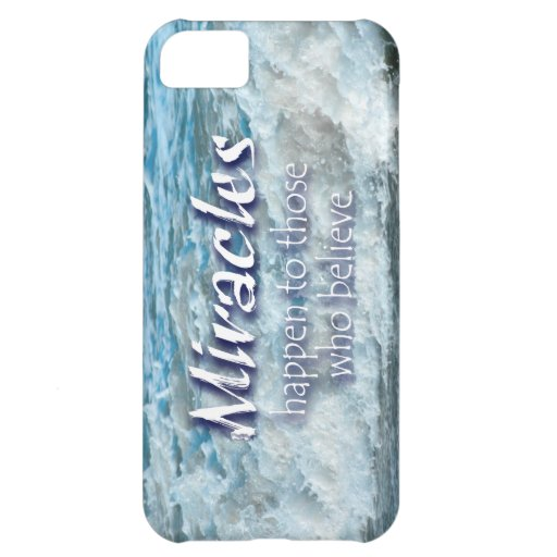 Miracles Happen Cover For iPhone 5C