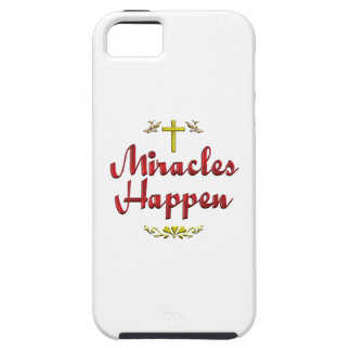 Miracles Happen iPhone 5 Cover