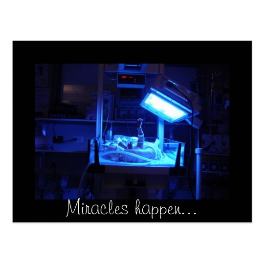 Miracles happen... postcard