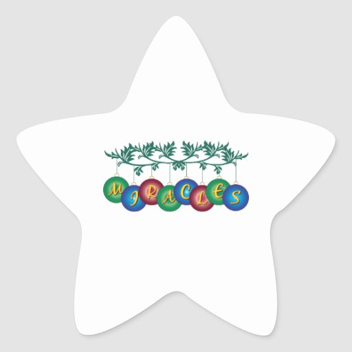 Miracles Stickers