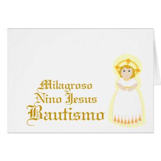 """Miraculous """"Bautismo""""-Customize Card"""