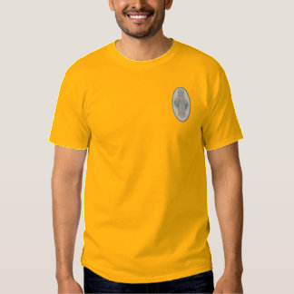 Miraculous Medal Embroidered T-Shirt