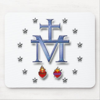 Miraculous Medal Mouse Pad
