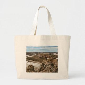 Miradores de Darwin, Santa Cruz Argentina Large Tote Bag