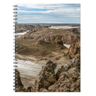 Miradores de Darwin, Santa Cruz Argentina Spiral Notebook