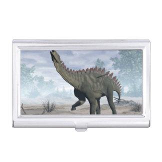 Miragaia dinosaur - 3D render Business Card Holder