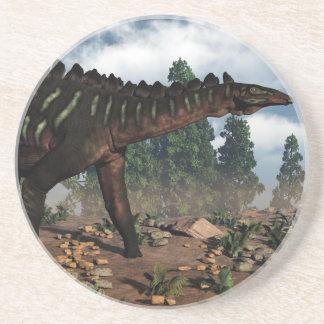 Miragaia dinosaur - 3D render Coaster