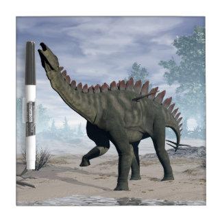 Miragaia dinosaur - 3D render Dry Erase Board