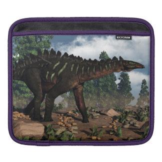 Miragaia dinosaur - 3D render iPad Sleeve