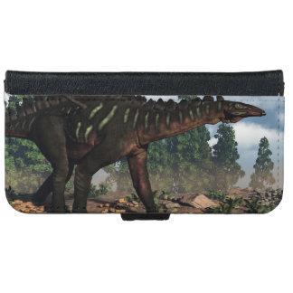 Miragaia dinosaur - 3D render iPhone 6 Wallet Case