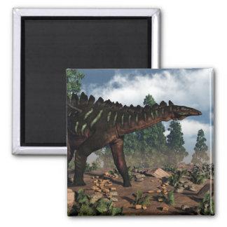 Miragaia dinosaur - 3D render Magnet