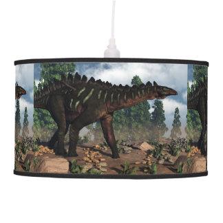 Miragaia dinosaur - 3D render Pendant Lamp