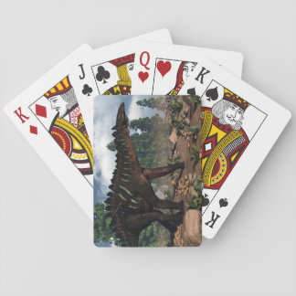 Miragaia dinosaur - 3D render Playing Cards