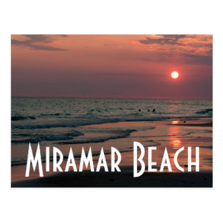 Miramar Beach Postcard