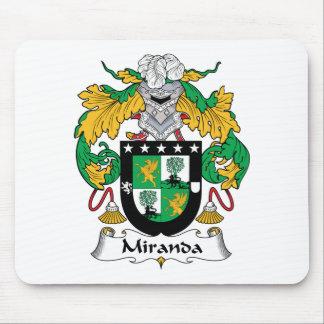 Miranda Family Crest Mouse Pad