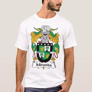 Miranda Family Crest T-Shirt