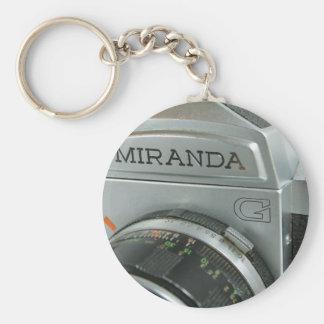 MIranda G Porte-clé Rond