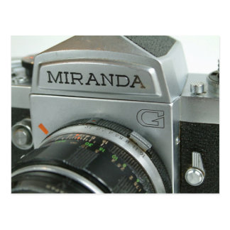 MIranda G Postcard