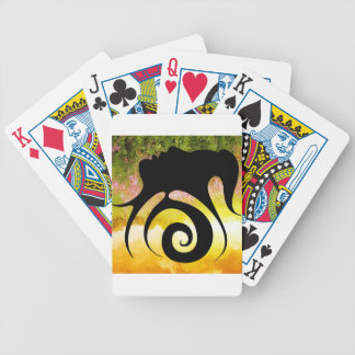 Miranillia - spring beauty bicycle playing cards