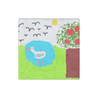 mira's summer stone magnets
