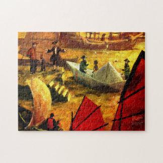 MIRIAM: Port of Shanghai Jigsaw Puzzle