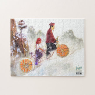 Miriam - tandem cycle with Liu Xiang Jigsaw Puzzle