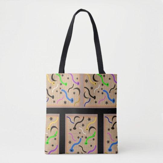 MIRO PRINT STRONG TOTE, i Art and Designs Tote Bag