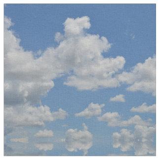 Mirriored Clouds Fabric