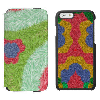 Mirror abstract colorful pattern incipio watson™ iPhone 6 wallet case